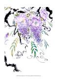 Wisteria Garden III Art by Nan Rae