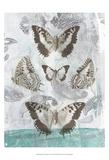 Butterflies & Filigree II Prints by Jennifer Goldberger