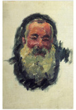 Self Portrait Posters by Claude Monet