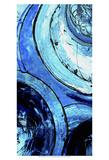 Blue Moons II Poster von Erin Ashley