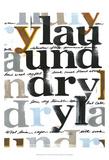 Laundry Lines IV Print by Deborah Velasquez