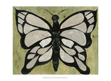 Butterfly Text Prints by Lisa Choate
