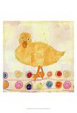Polka Dot Duck Posters by Ingrid Blixt