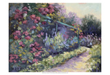 Monet's Garden VI Art by Mary Jean Weber