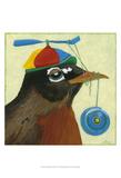 You Silly Bird - Chandler Poster by Dlynn Roll