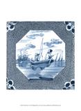 Delft Tile V Prints by  Vision Studio