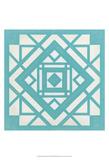 Modern Quilt II Kunstdrucke von Erica J. Vess