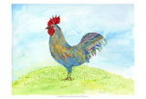Meadow Rooster Posters by Ingrid Blixt