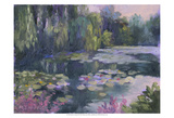 Monet's Garden II Prints by Mary Jean Weber