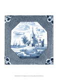 Delft Tile II Prints by  Vision Studio