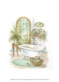 Watercolor Bath in Spa II Prints by Jerianne Van Dijk