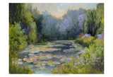 Monet's Garden I Print by Mary Jean Weber