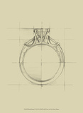 Ring Design IV Prints by Ethan Harper