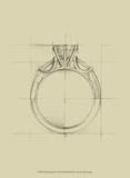 Ring Design IV Prints by Ethan Harper