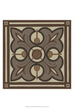 Piazza Tile in Brown II Posters by Erica J. Vess