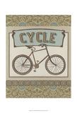 Cycle Prints by Erica J. Vess