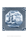 Delft Tile VI Prints by  Vision Studio