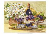 Wine & Daisies Kunstdrucke von Jerianne Van Dijk