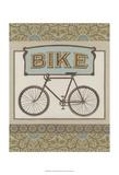 Bike Posters by Erica J. Vess