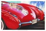 '57 Corvette Posters av Graham Reynolds