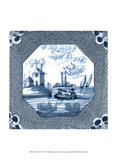 Delft Tile IV Prints by  Vision Studio