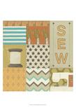 Sew Print by Erica J. Vess