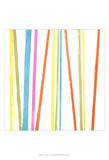 Cabana Stripes I Art by Erica J. Vess