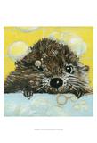 Bubbles - Olivia Affiches par Dlynn Roll