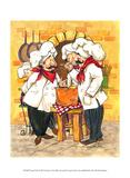 Soup Chefs Poster von Jerianne Van Dijk