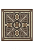 Piazza Tile in Brown I Art by June Erica Vess