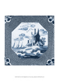 Delft Tile I Prints by  Vision Studio
