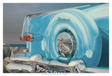 '53 Packard Caribbean Print by Graham Reynolds
