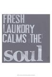 Fresh Laundry II Print by Deborah Velasquez