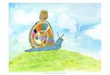 Meadow Snail Arte por Ingrid Blixt