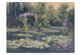 Monet's Garden IV Prints by Mary Jean Weber