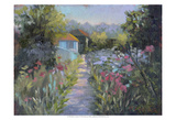 Monet's Garden V Posters by Mary Jean Weber