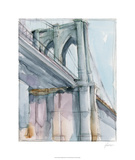 Watercolor Bridge Study II Limited Edition by Ethan Harper