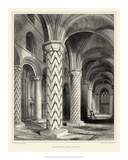 Gothic Detail I Giclee Print by R.w. Billings