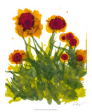 Poppy Whimsy V Giclee Print by Cheryl Baynes