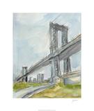 Plein Air Bridge Study I Limited Edition by Ethan Harper