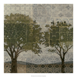 Patterned Arbor II Giclee Print by Megan Meagher