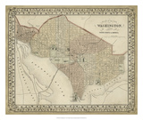 Plan of Washington, D.C. Giclee Print by  Mitchell