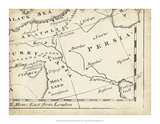 Map of Europe Grid IX Giclee Print by T. Jeffreys