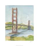Plein Air Bridge Study II Limited Edition by Ethan Harper