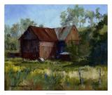 Amish Country Barn Giclee Print by Barbara Chenault