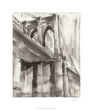 Sepia Bridge Study II Limited Edition by Ethan Harper