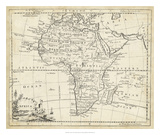 Map of Africa Giclee Print by T. Jeffreys