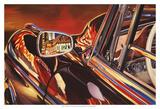 '56 Mercedes Poster par Graham Reynolds