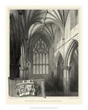 Gothic Detail II Giclee Print by R.w. Billings