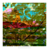 Abstract Leaf Study III Giclee Print by Sisa Jasper